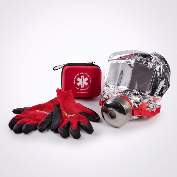 RPD60 Smoke Hood and Fire Gloves set