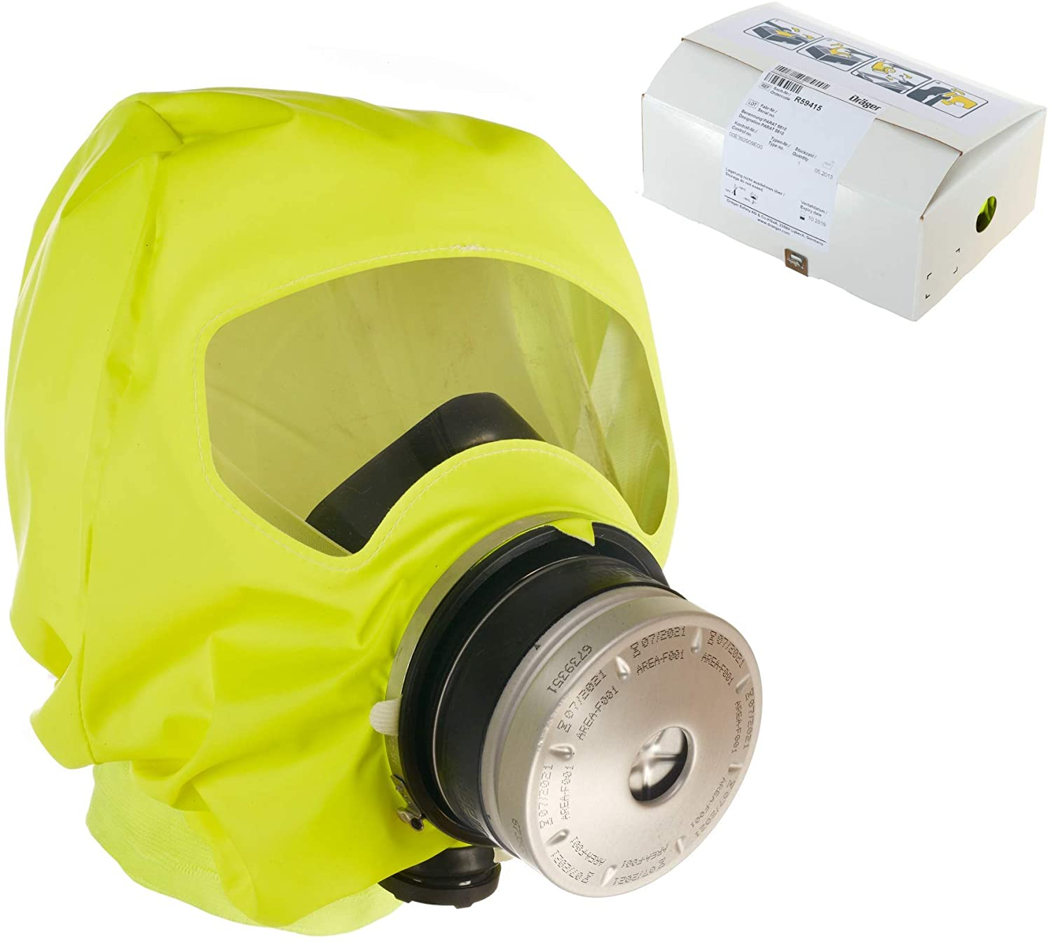 Drager 5510 Fire Mask